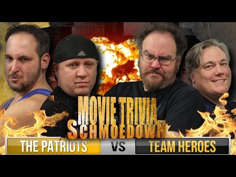 Team Movie Trivia Schmoedown - Heroes Vs Patriots