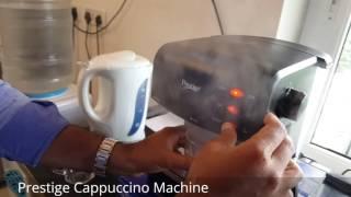 PRESTIGE CAPPUCCINO MACHINE