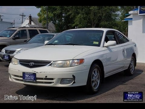 2001 Toyota Camry Solara Coupe