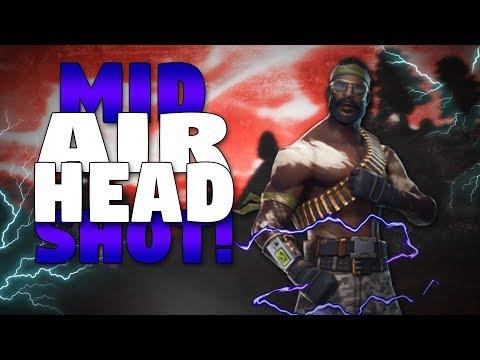 Mid Air Headshot! - Fortnite Battle Royale Gameplay
