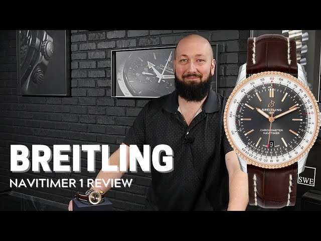 Breitling Navitimer 1 41mm Steel Rose Gold Mens Watch U17326 Review   SwissWatchExpo
