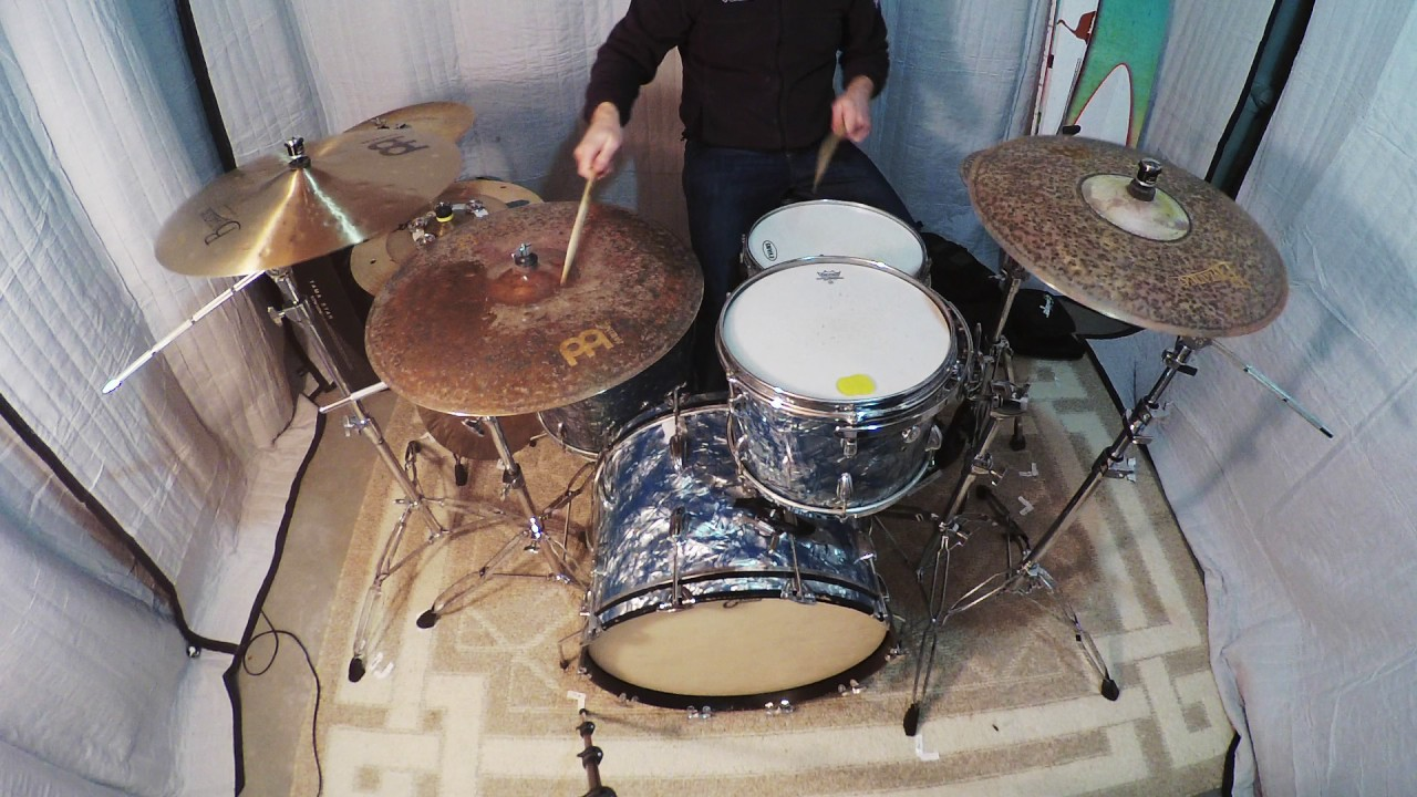 1968 Pearl Super Deluxe Vintage Drum Kit Sold Youtube