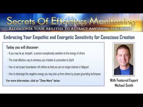 Embracing Your Emphatic and Energetic Sensitivity for Conscious Creation