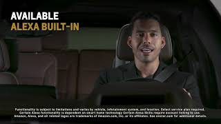 homepage tile video photo for All-New 2021 Tahoe and Suburban: Infotainment | Chevrolet