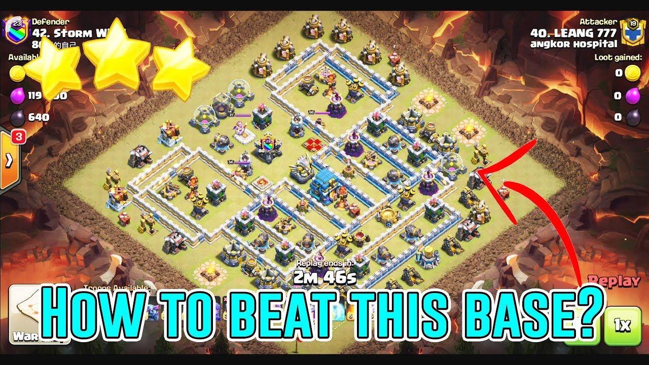 Base War Coc Th 12 Max 1