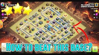 BEAT MAX BASE TH12 3-STAR - SUPER QUEEN CHARGE+BOWIPE ( Clash of Clans )