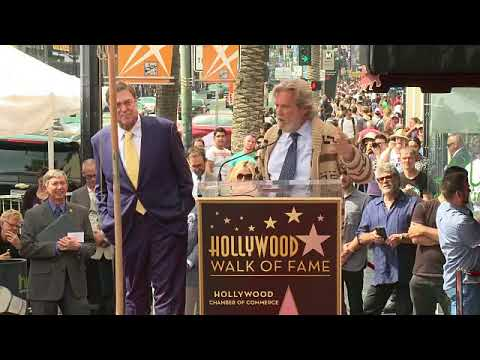 EVENT CAPSULE CLEAN - John Goodman Honored With Star On The Hollywood Walk Of Fame
