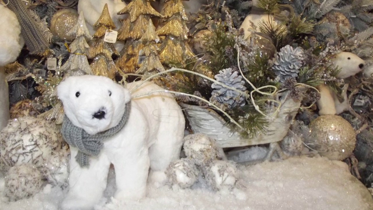 6 in - Polar Bear Christmas Decorations