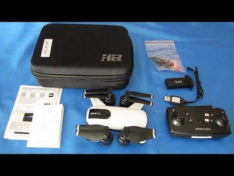 SHRC H1G Long Flying GPS FPV Camera Drone Flight Test Review
