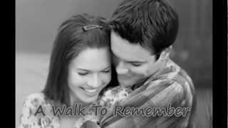 A walk to remember ( fan video )