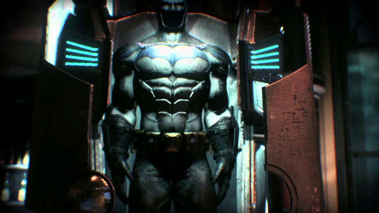 Replika Watch Batman: Arkham Knight | Hidden Batsuit/gadget Display