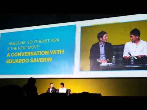 TechinAsia 2016 Singapore Eduardo Saverin