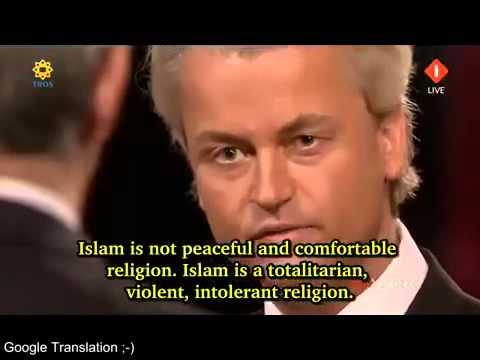 Brilliant Geert Wilders Moment
