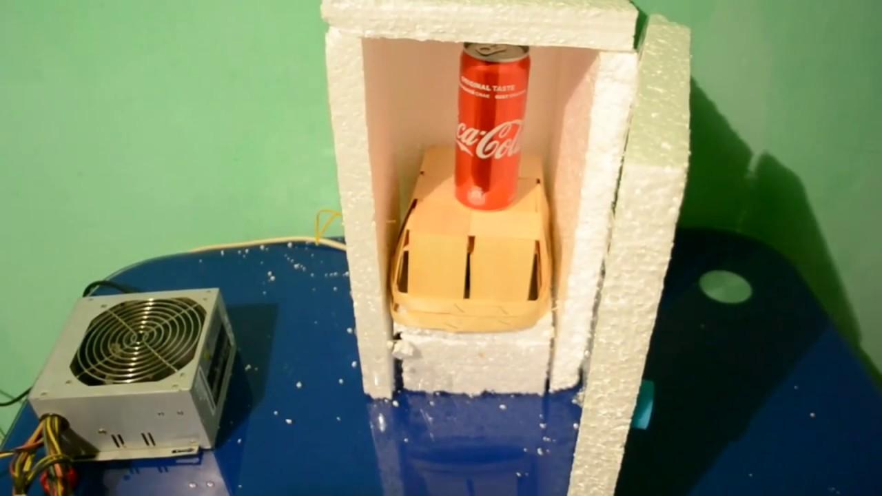 Mini Kühlschrank Mit Peltier Element : Wie wärs mit einem mini kühlschrank gehäuse youtube
