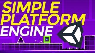 Unity 5: Simple platformer engine