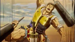 نهاية القتال بين موبو و كانمي ( الرجل الأقوى ) 🔥