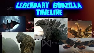 Legendary Godzilla Timeline / Kaiju Dates and Locations! All monsters in the monsterverse!