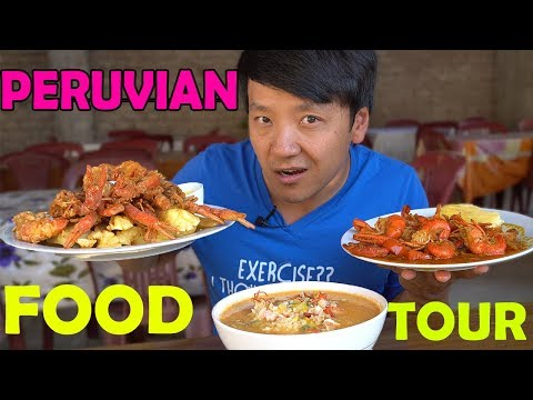 AUTHENTIC Local Food Tour in PERU