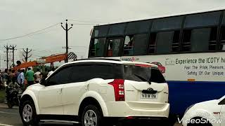 Truck accident in Sriperumbathur