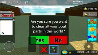 First Journey of Roblox Build a Boat for Treasure