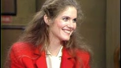Julie Hagerty on Letterman, December 1, 1982