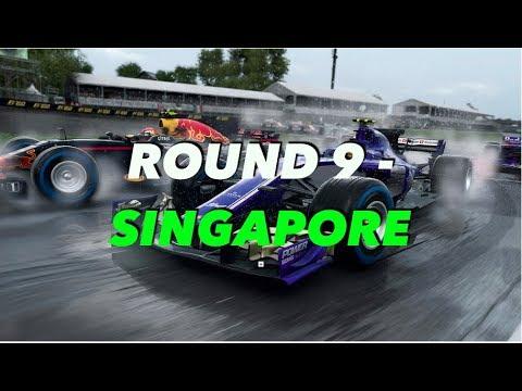 LATE BRAKING ONLINE RACING LEAGUE: ROUND 9 - SINGAPORE