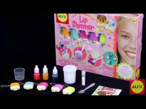 ALEX Toys - Mix & Makeup Lip Shimmer Kit 795L