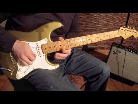 Cunetto Stratocaster 1996 - Custom Shop Relic John Page / VInce Cunetto