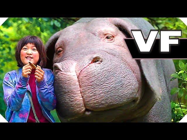 Filmsactu okja bande annonce vf netflix film d'aventure coreen cannes 2017