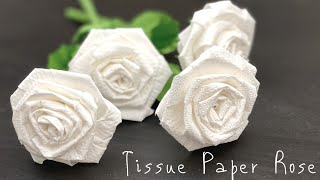Tissue Paper Flowers   Very Ea…