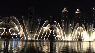 The Prayer (Dubai Mall Dancing Fountain)