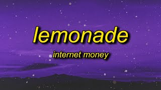 Internet Money - Lemonade (TikTok Remix) Lyrics | hey hey off the juice codeine got me trippin