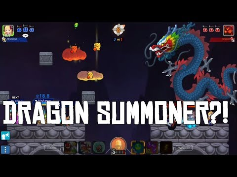 GunboundM Dragon Summoner 100% Win Tutorial | Abukenyo