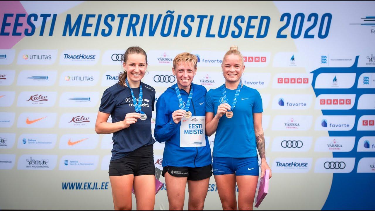 Download Eesti MV 10 000m jooksus, II etapp - Naised