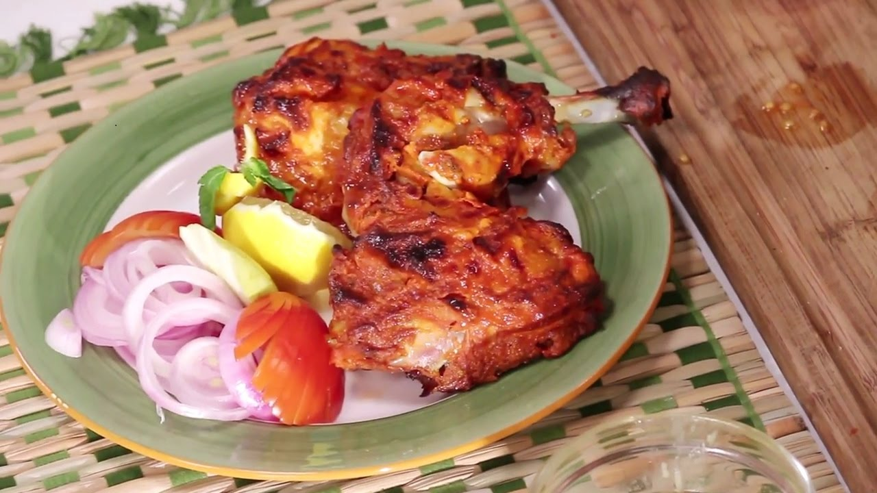 Tandoori Chicken Best Foodie Friends Chef Anupa Sanjeev Kapoor Khazana Youtube