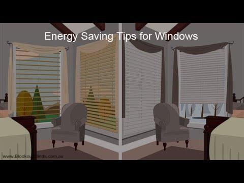Energy Savings Tips for Windows