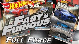 HOT WHEELS 2020 Fast & Furious Full Force