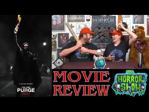 """The First Purge"" 2018 Non-Spoiler Movie Review - The Horror Show"