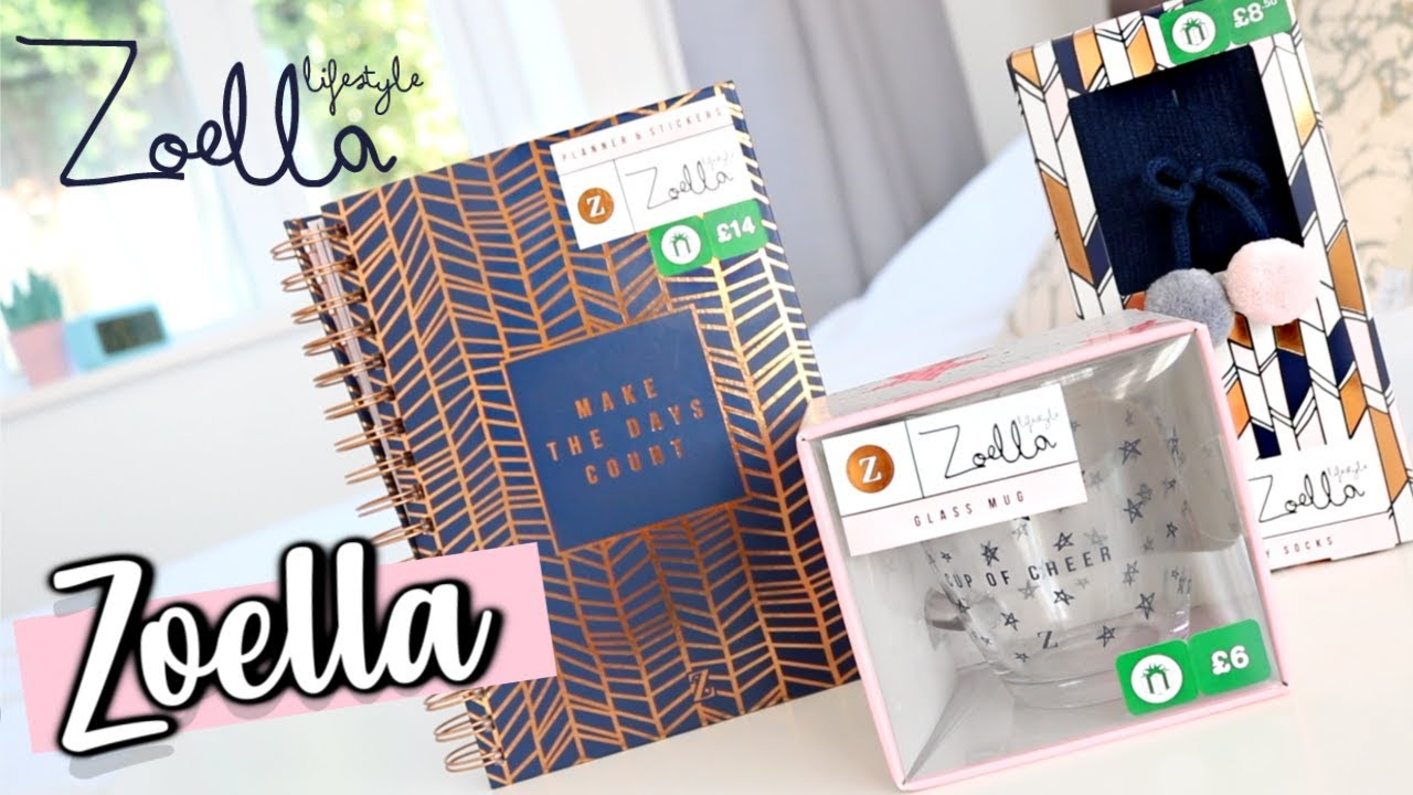 Zoella Lifestyle Planner Christmas 2020 ZOELLA LIFESTYLE RANGE FOR 2019 | BOOTS EXCLUSIVE   YouTube