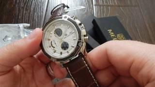 №355 классные часы хронограф Megir (Aliexpress)