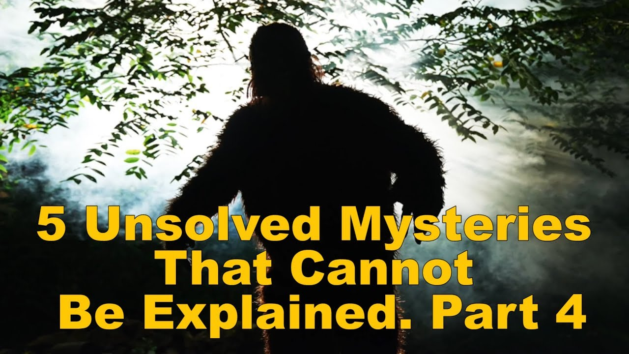 5 Unsolved Mysteries That Cannot Be Explained. Part 4