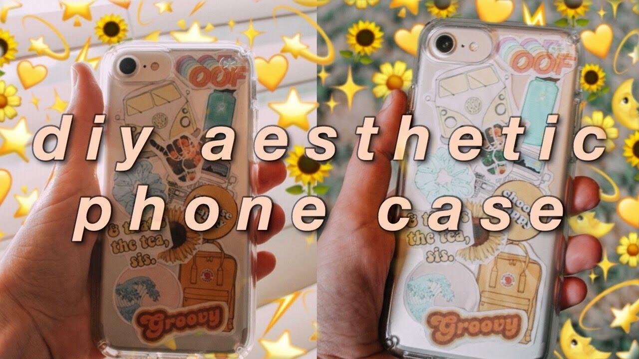 Diy Aesthetic Phone Case Vsco Inspired Youtube