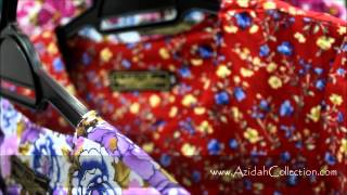 Baju Kurung Moden Azidah Collection ~ Azidah Carmela Season 8