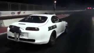 Toyota Supra With 2200 HP