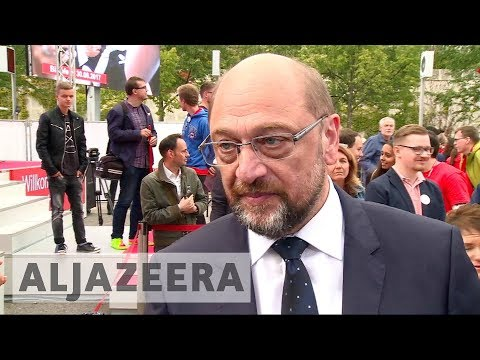 German election 2017: Martin Schulz unable to make headway against Angela Merkel