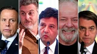ELEIÇÕES PRESIDENCIAIS 2022   PESQUISA DA XP IPESPE REVELA  QUE SE AS ELEIÇÕES FOSSEM HOJE, O EX...