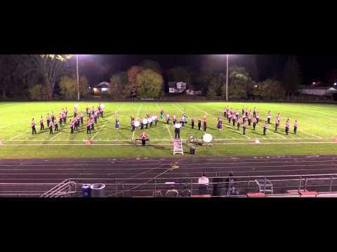 "2014 Big Rapids High School Marching Band - ""Americana"""