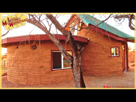 Finishing the exterior 3750 total cost earthbag for Total cost of building a house