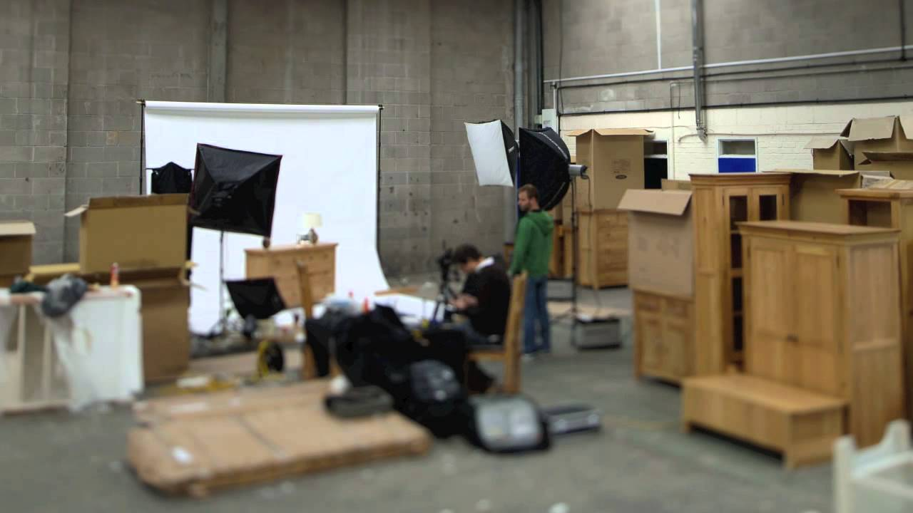 Lindsay Fowke Photography Furniture Shoot With Oak Solutions, Timelapse    YouTube