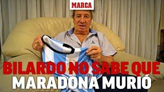 Bilardo sigue sin saber que Maradona murió... y ya hay un plan para decírselo I MARCA
